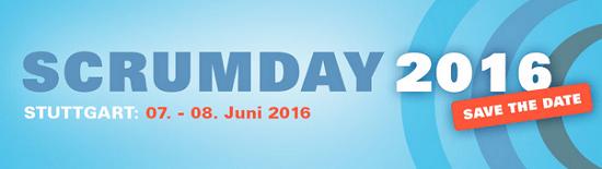 Scrumday 2016 am 7.+8. Juni 2016 in Filderstadt bei Stuttgart