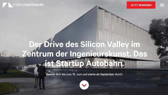 StartUp Autobahn - Neuer Accelerator von Daimler und Plug and Play in Stuttgart