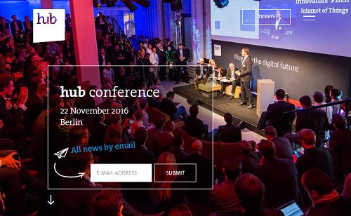 hub conference 2016 - BITKOM Trendkongress in Berlin