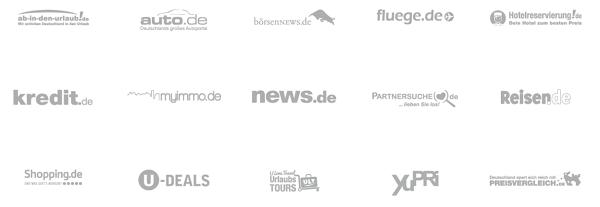 Unternehmen der Unister-Firmengruppe