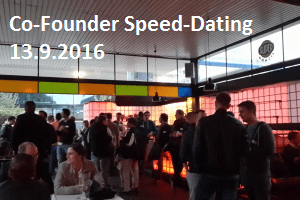 Co-Founder Speed Dating am 13.9.2016 in Stuttgart