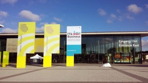 IT & Business 2016 - Eingangsbereich