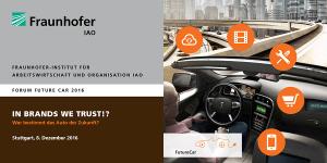 Forum Future Car 2016 am Fraunhofer IAO