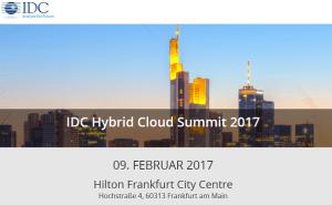 IDC Hybrid Cloud Summit 2017