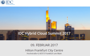 IDC Hybrid Cloud Summit 2017