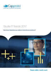 IT-Trends 2017 - Studie von Capgemini