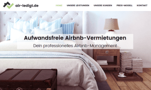 air-ledigt: Professionelles airbnb-Management