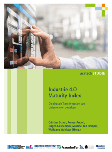 acatech-Studie: Industrie 4.0 Maturity Index