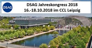 DSAG Jahreskongress 2018 in Leipzig