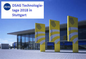 DSAG Technologietage 2018 im Februar in Stuttgart