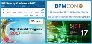 Events im Herbst 2017 (Beispiele)