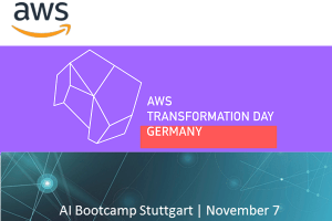 AWS Transformation Day und AWS AI/KI Bootcamp