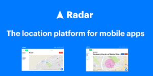 Radar - Location-Plattform für iOS und Android