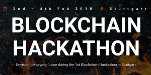 Blockchain Hackathon 2018 in Stuttgart