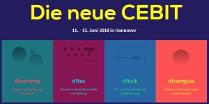 CEBIT 2018 vom 11.-15. Juni 2018