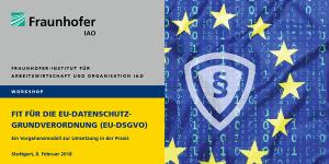 Workshop des Fraunhofer IAO zum Thema DSGVO