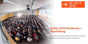 DOAG 2018 Kongress + Ausstellung