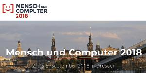 Mensch und Computer 2018 in Dresden