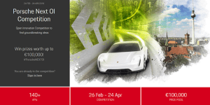 Porsche Next OI Competition
