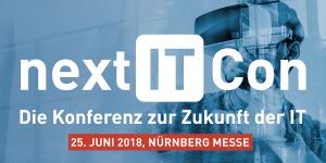 Next IT Con 2018 - Die Konferenz zur Zukunft der IT