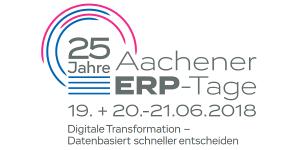 25. Aachener ERP-Tage vom 19.-21. Juni 2018