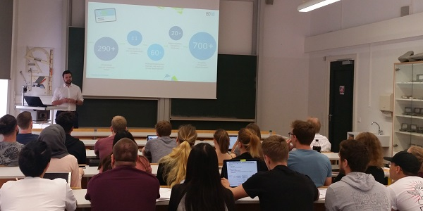 CRM / Salesforce-Experte Wingbermühle (ec4u) zu Gast an der HFT Stuttgart