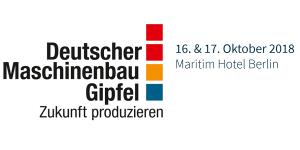 Deutscher Maschinenbau-Gipfel 2018