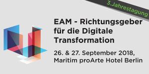 Konferenz EAM - Richtungsgeber für die Digitale Transformation
