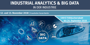 3. Fachkonferenz Industrial Analytics & Big Data in der Industrie