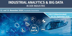 3. Fachkonferenz Industrial Analytics & Big Data in der Industrie
