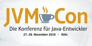 JVM-CON 2018 vom 27.-28.11. in Köln