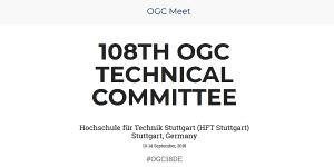 108. OGC TC Meeting an der HFT Stuttgart
