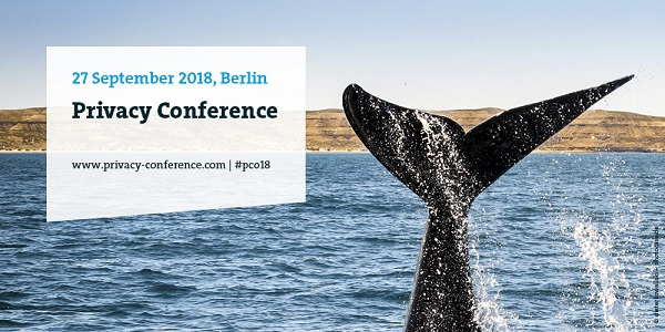 4. Privacy Conference 2018 am 27.9. in Berlin - Alles rund um Datenschutz (Sonderkonditionen)