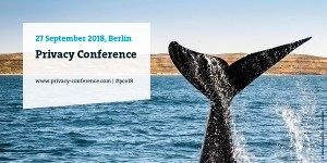 Bitkom Privacy Conference 2018 in Berlin