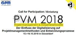 GI-Tagung PVM 2018 in Düsseldorf