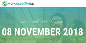 World Usability Day 2018 in Stuttgart