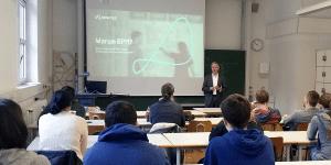 BPM-Experte Holger Hagen von Novatec zu Gast an der HFT Stuttgart
