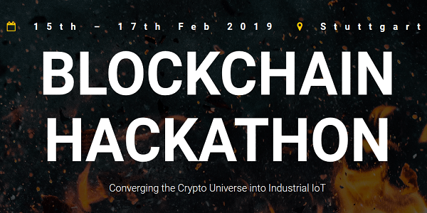 Blockchain Hackathon Stuttgart 2019 vom 15.-17.2. an der HFT Stuttgart #hackBC19