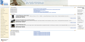 www.zoll-auktion.de - Virtuelles Auktionshaus von Bund, Ländern und Gemeinden