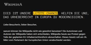 Wikipedia.de down