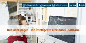 freelance pages - Jobvermittlung mit KI