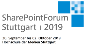 SharePoint Forum Stuttgart 2019