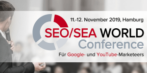 SEO/SEA WORLD Conference 2019 Hamburg
