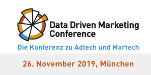 Data Driven Marketing Conference 2019