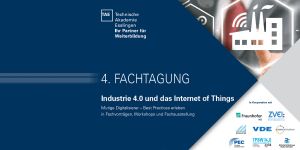 4. Fachtagung Industrie 4.0 und das Internet of Things an der TAE Esslingen