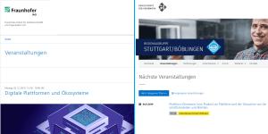 Digitale Plattformen, Ökosysteme und Plattformökonomie - 2 Events in Stuttgart