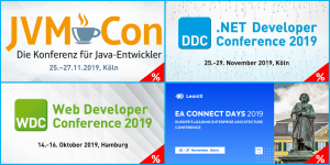 Top-Events in Q4: Java, .NET, Web, DevOps und EAM