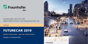 IAO-Forum FutureCar 2019
