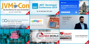 Top Events im November und Dezember 2019
