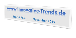 Top 10 Posts im November 2019